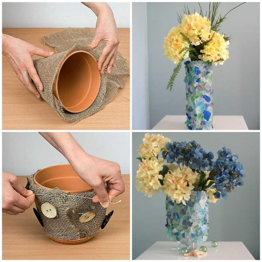 Поделка ваза — как сделать красивую и оригинальную вазу своими руками (105 фото)