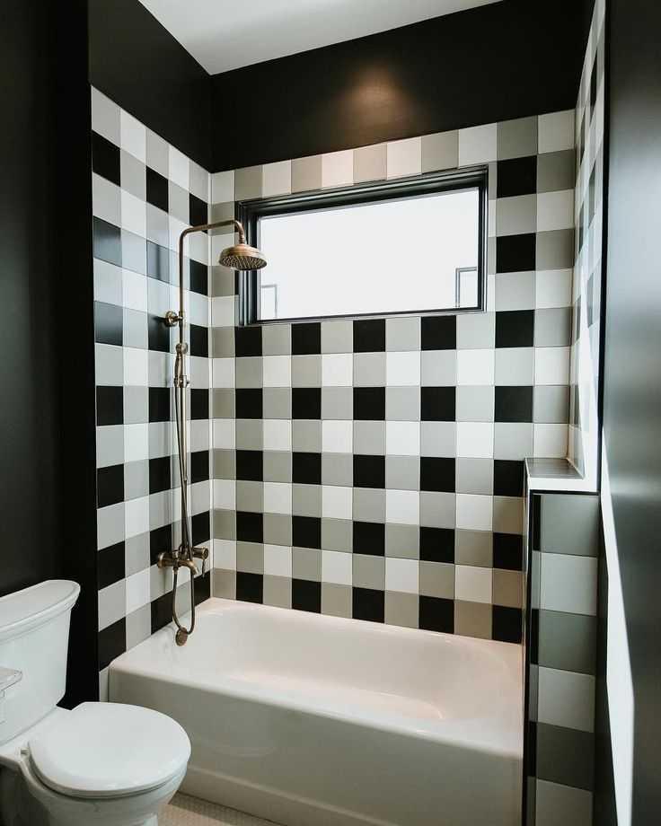 Лучшие идеи дизайна ванной комнаты с белой плиткой - фото реальных интерьеров | salon
