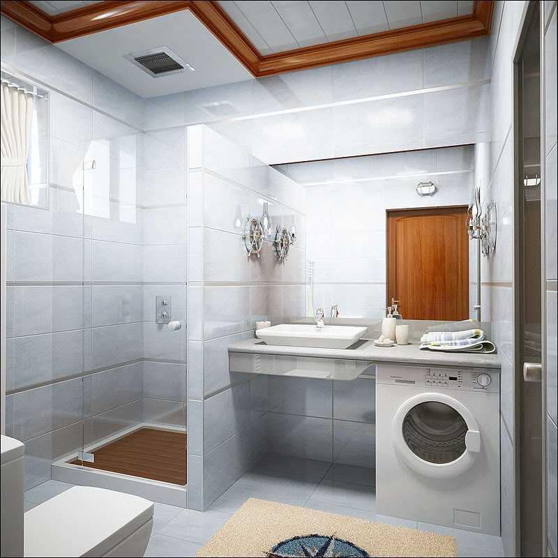 Дизайн ванной комнаты с туалетом: современные идеи на фото