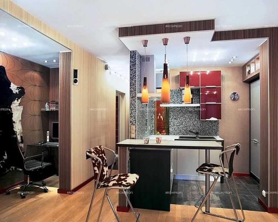 Удачный интерьер кухни-коридора: 8 правил