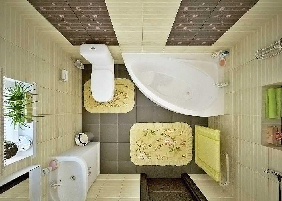 Дизайн совмещенного санузла 5 кв.м. фотоподборка