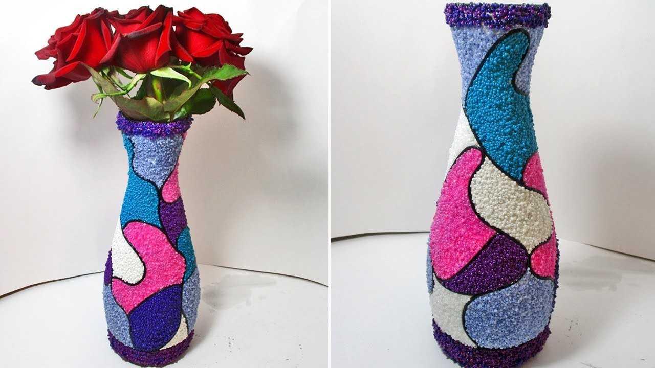 Поделка ваза: 105 фото оригинальных идей и мастер-класс изготовления ваз