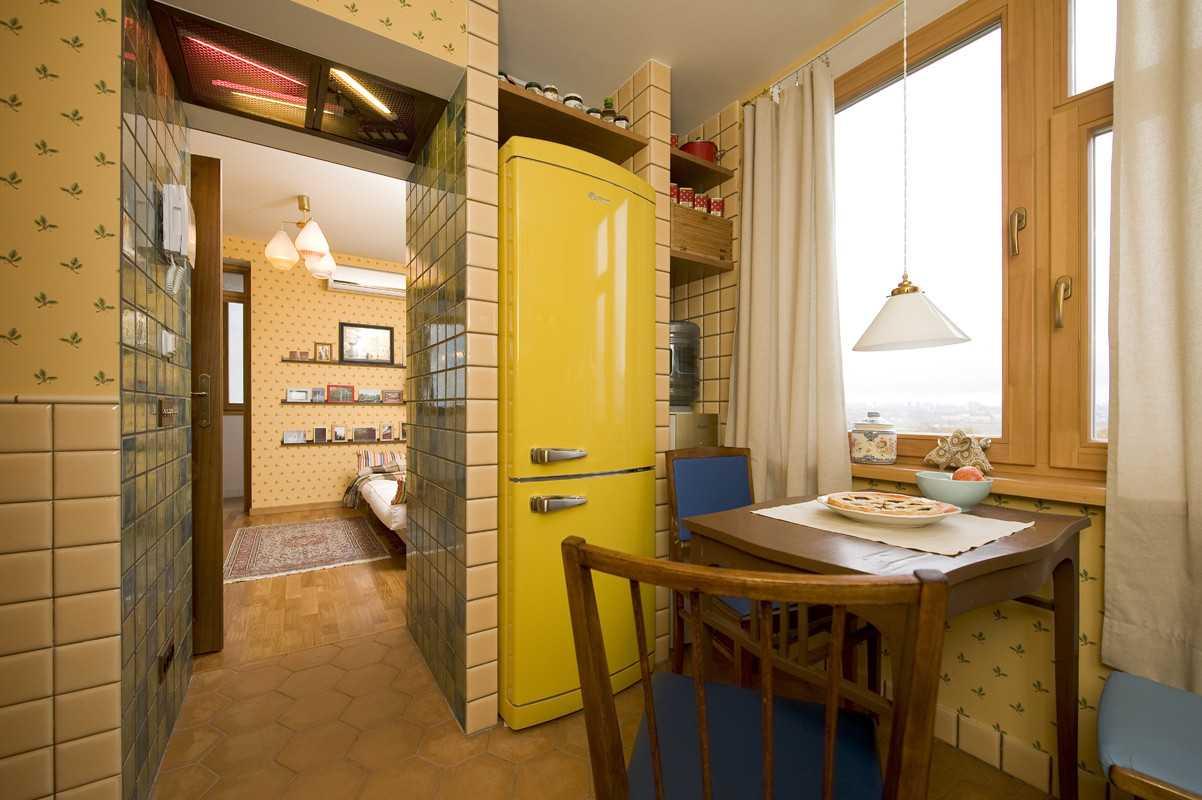 Кухня-прихожая совмещенная с коридором: фото дизайна, выбор обоев и планировка