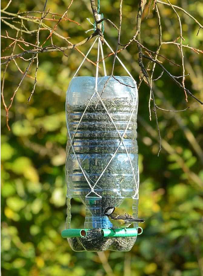 Кормушка для птиц своими руками из пластиковой бутылки (5 литров) кормушка для птиц своими руками из пластиковой бутылки (5 литров)