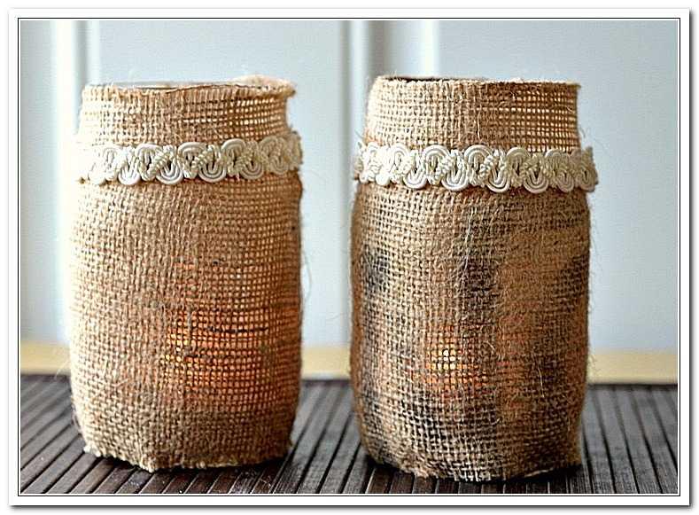 Как украсить вазу своими руками — идеи декора