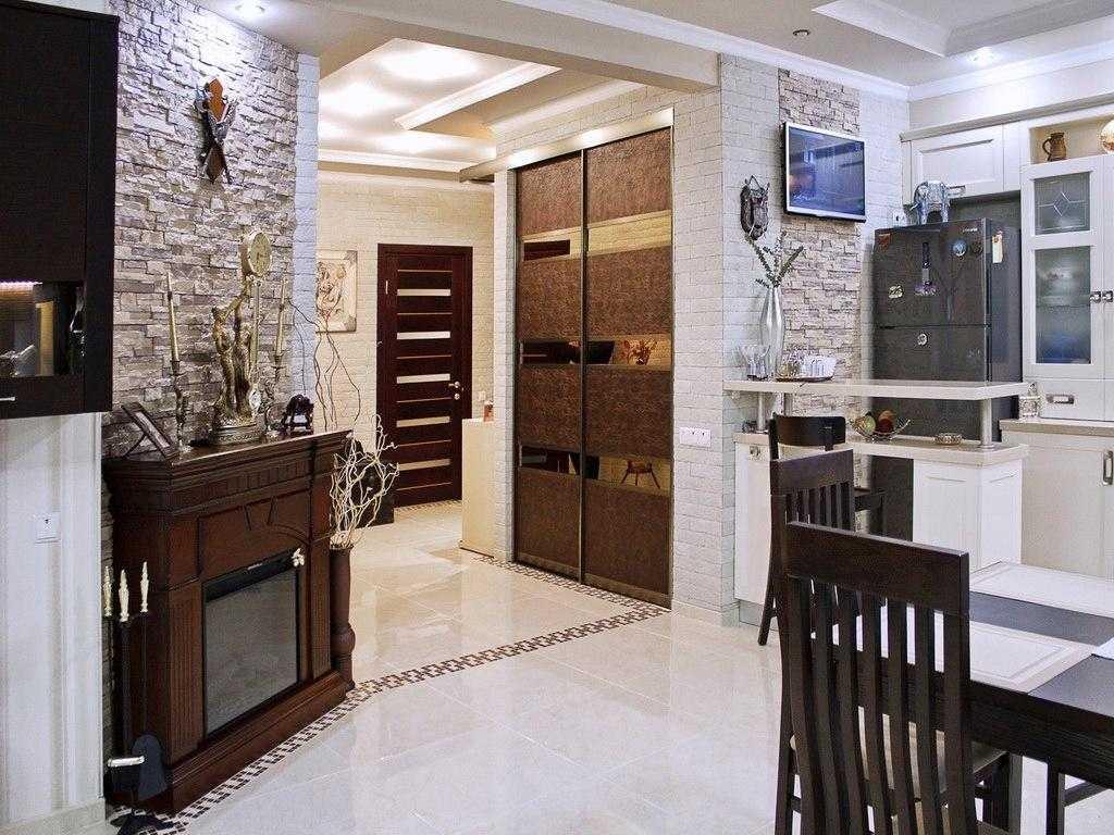 Кухня в коридоре: согласование переноса и способы оформления