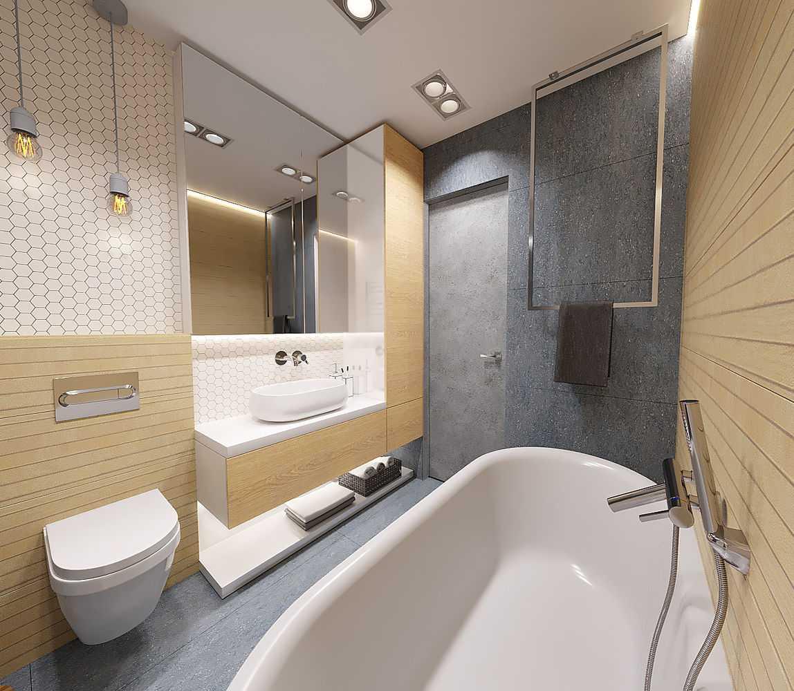 Ванная комната, совмещенная с туалетом: идеи интерьера на 75 фото