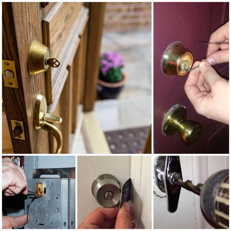 Как открыть дверь межкомнатной двери без ключа самому