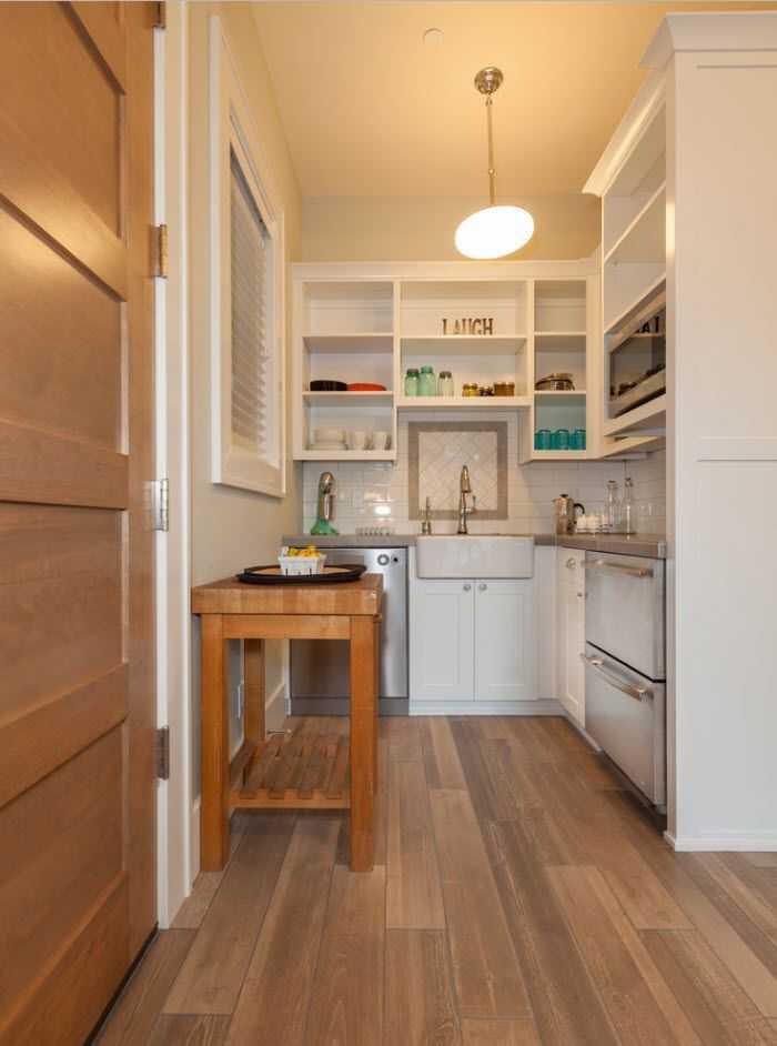 Как обустроить кухню в коридоре - оформление и переоформление ?