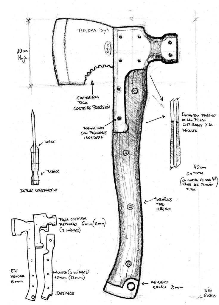 Из чего и как правильно сделать топорище – изготовление ручки топора по чертежам своими руками