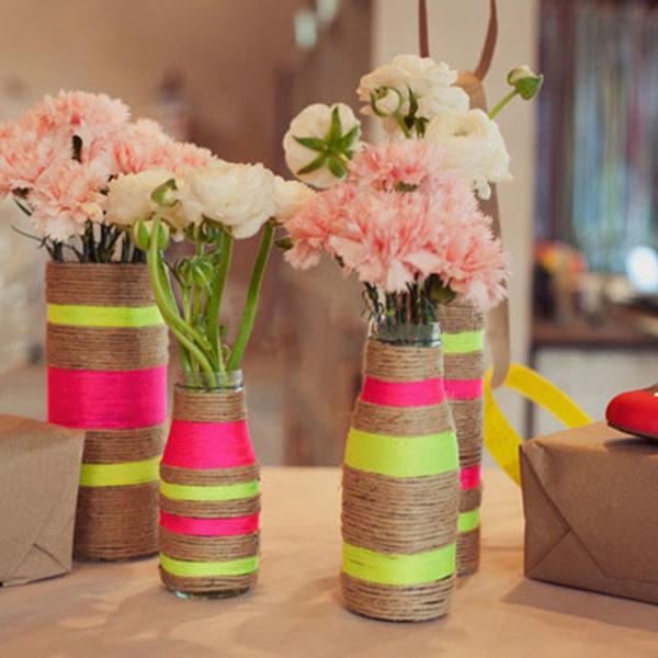 Оригинальные вазы, которые возможно создать собственноручно