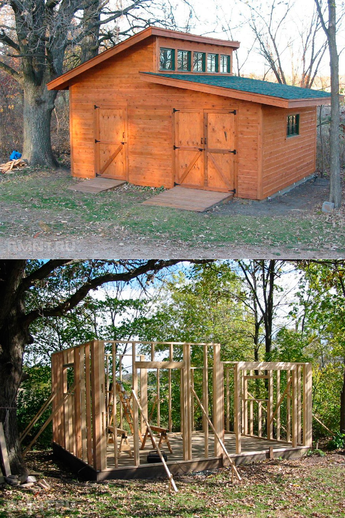 Сарай своими руками: 110 фото и видео мастер-класс постройки сарая для дома и дачи