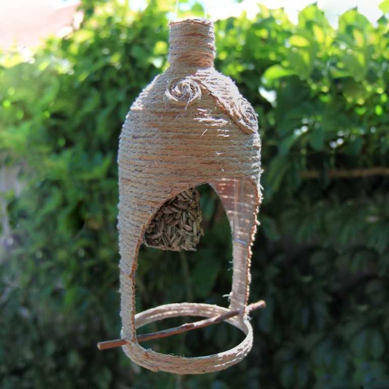 Кормушка для птиц из 5 литровой бутылки 200 фото, пошаговые инструкции