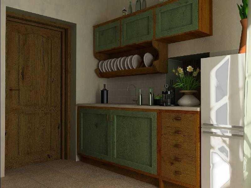 Варианты оформления интерьера кухни-прихожей