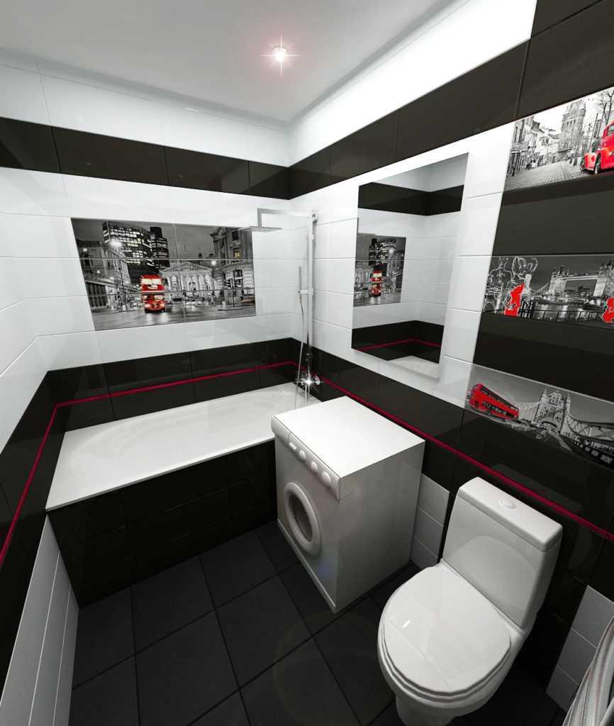 Необычные серо-белые ванные комнаты: лучшие идеи дизайна интерьера от ivd.ru