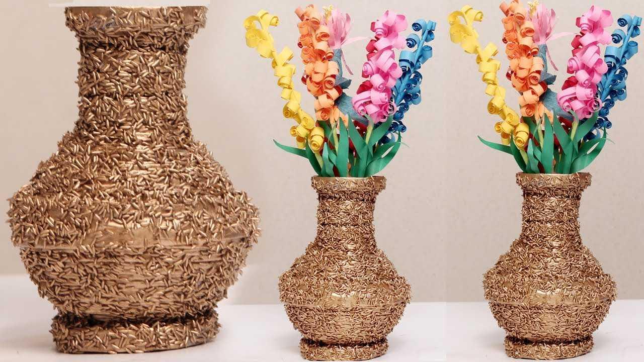 Как сделать вазу - 110 фото больших и маленьких напольных и настольных ваз